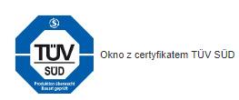 Certyfikat TUV SUD