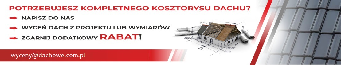 Bezpłatna wycena dachu na dachowe.com.pl